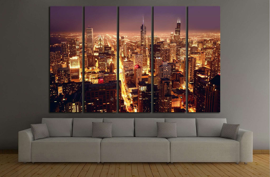 Chicago, Illinois №240 Ready to Hang Canvas Print