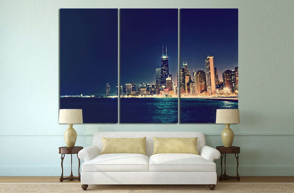 Chicago, Illinois №242 Ready to Hang Canvas Print