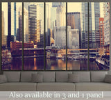 Chicago №2170 Ready to Hang Canvas Print