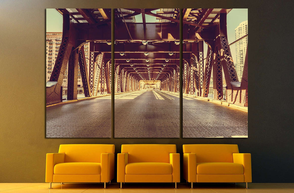 Chicago №2172 Ready to Hang Canvas Print