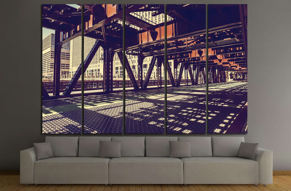 Chicago №892 Ready to Hang Canvas Print