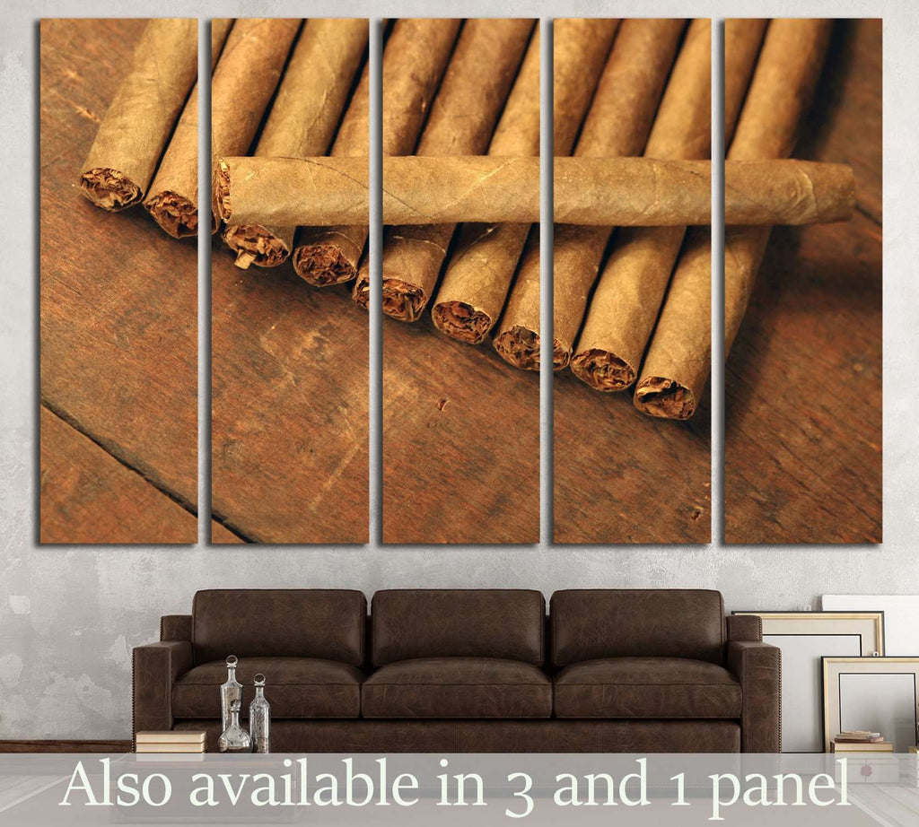 Cigar №519 Ready to Hang Canvas Print