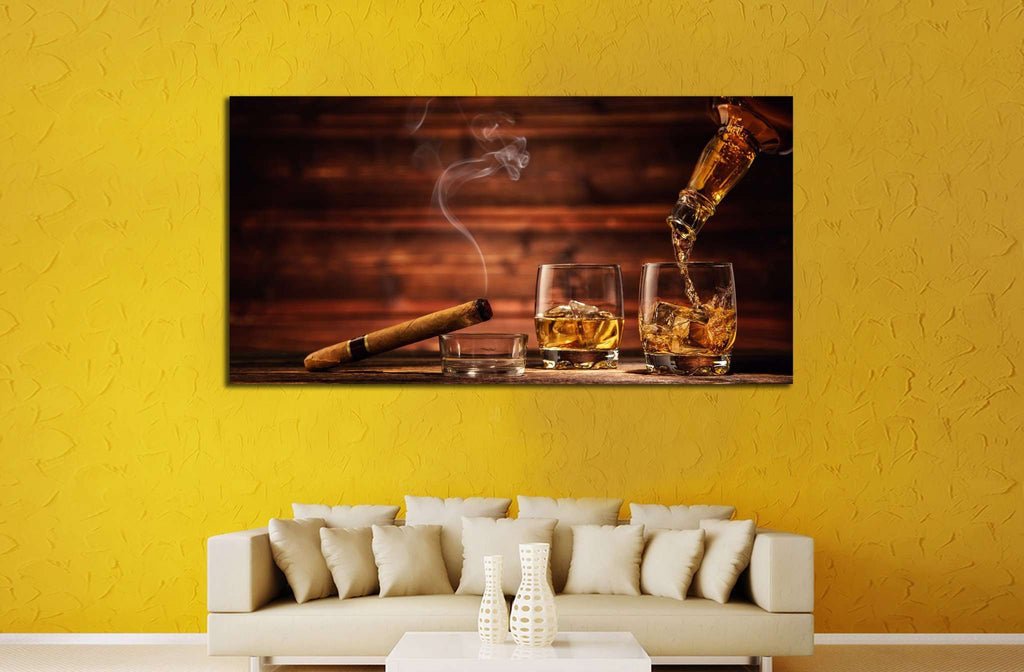 Cigar Wall Art №541 Ready to Hang Canvas Print Canvas Print ...