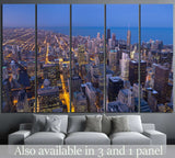 City of Chicago №891 Ready to Hang Canvas Print