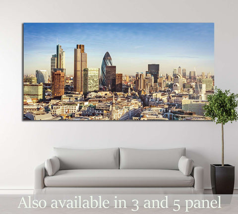 City of London one of the leading centres of global finance №2652 Ready to Hang Canvas Print