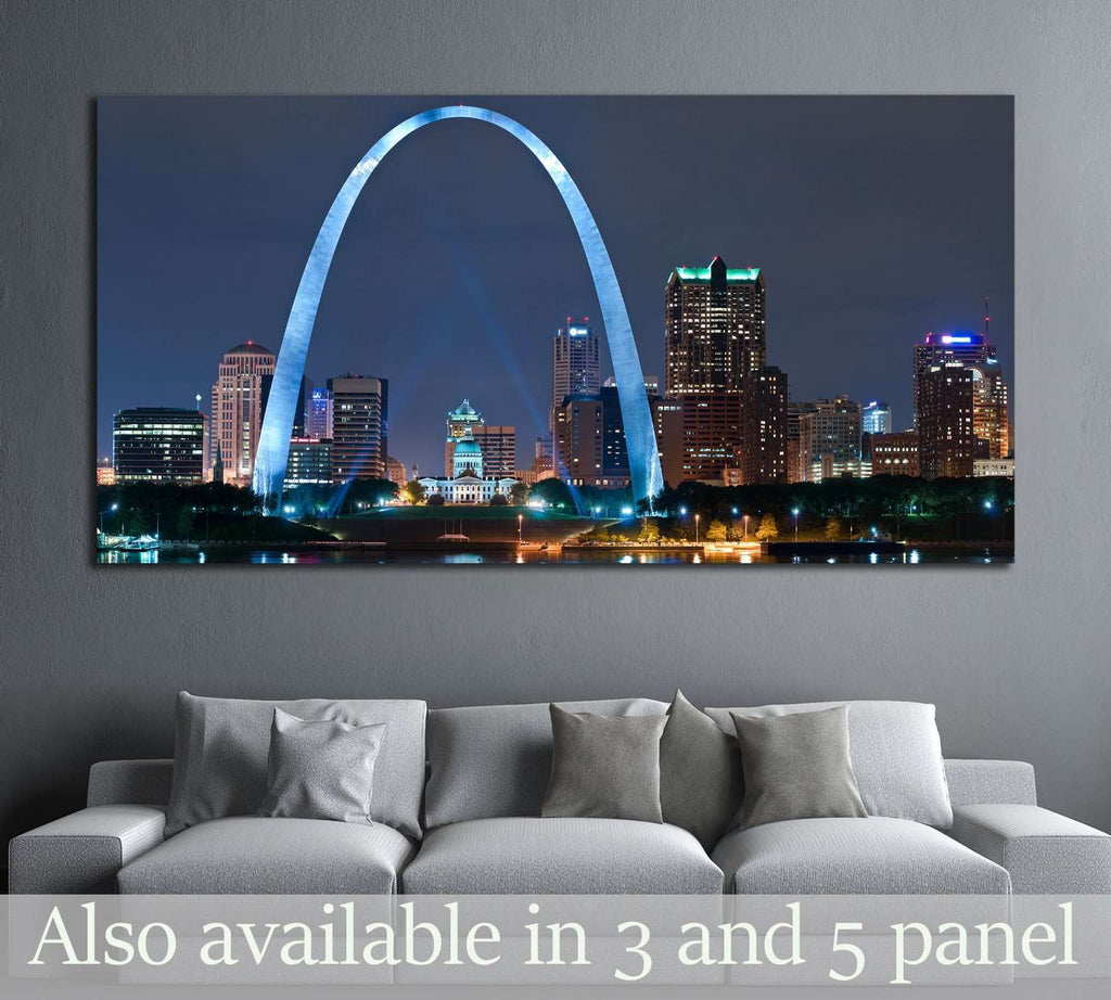 City of St. Louis №2011 Ready to Hang Canvas Print
