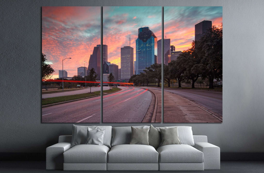 Cityscape №885 Ready to Hang Canvas Print