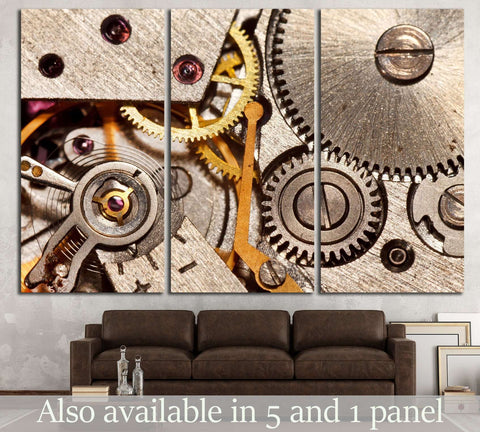 Clockwork №217 Ready to Hang Canvas Print