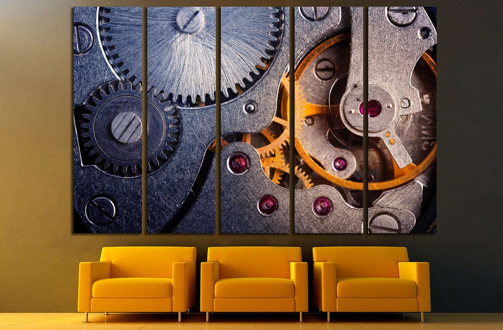 Clockwork №222 Ready to Hang Canvas Print
