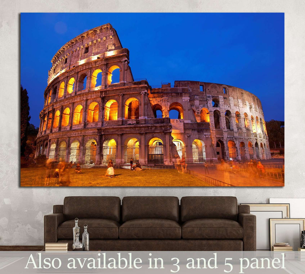 Coliseum, Rome №854 Ready to Hang Canvas Print