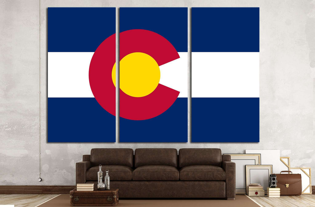 Colorado №674 Ready to Hang Canvas Print