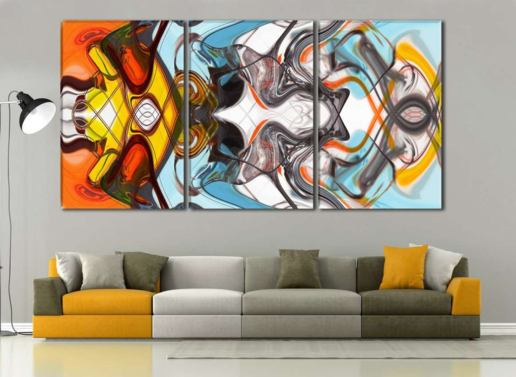 Colorful Abstract №787 Ready to Hang Canvas Print