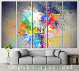 Colours of Life №732 Ready to Hang Canvas Print