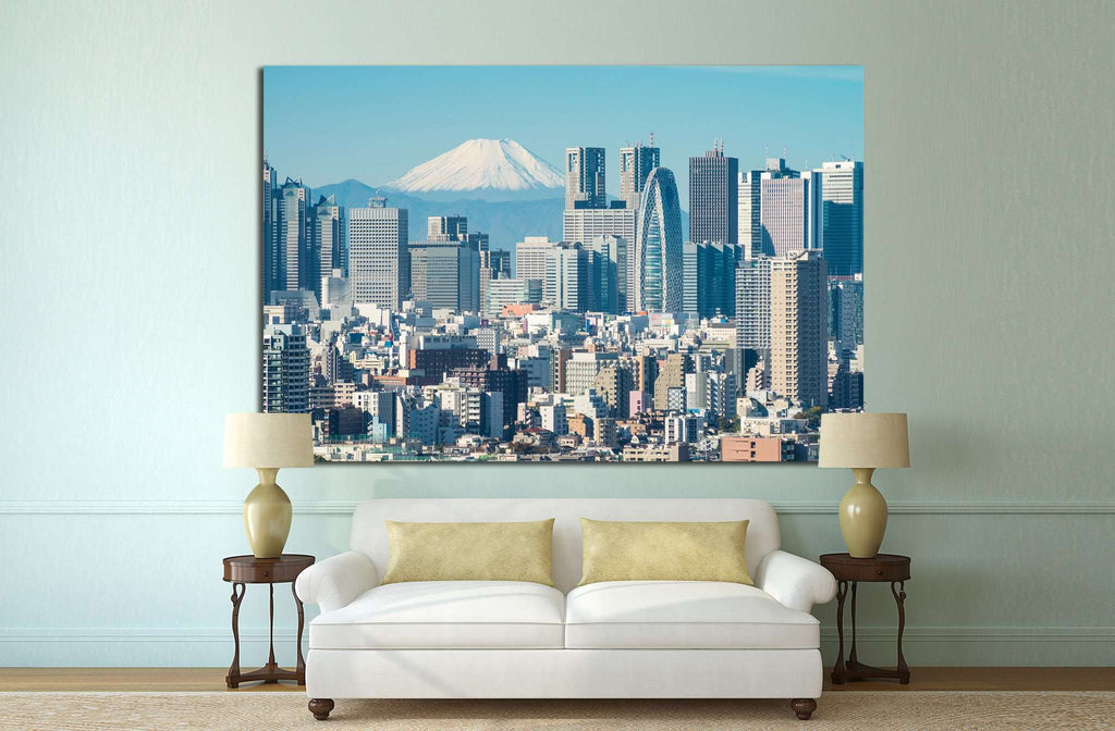 Copy of Tokyo, Japan №1157 Ready to Hang Canvas Print