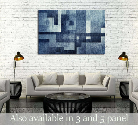 Creative abstract textured background №2891 Ready to Hang Canvas Print