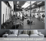 Crossfit Training №1462 Ready to Hang Canvas Print