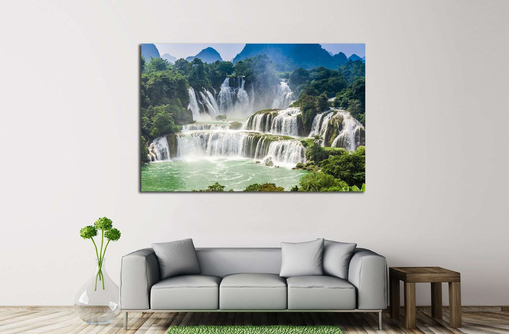 Detian Waterfall №607 Ready to Hang Canvas Print
