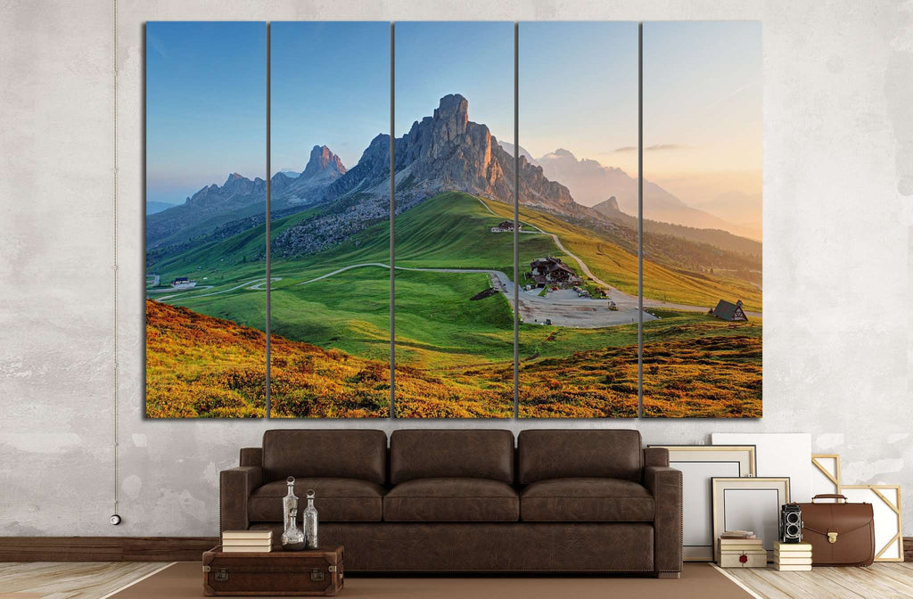 Dolomites landscape №608 Ready to Hang Canvas Print