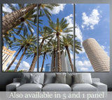 Downtown Tampa, Florida daytime №1213 Ready to Hang Canvas Print