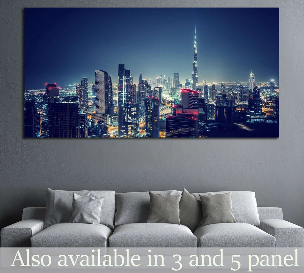 Dubai cityscape №558 Ready to Hang Canvas Print