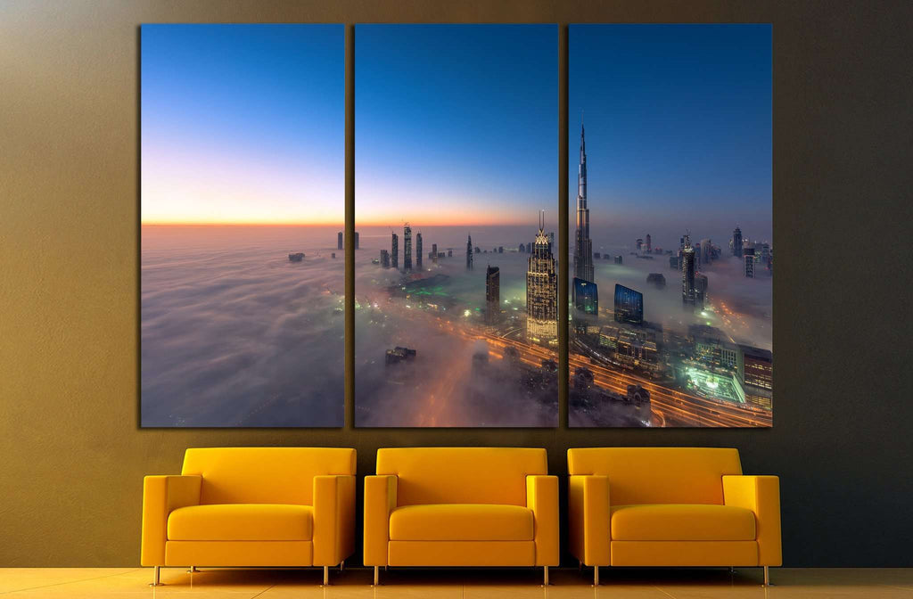 Dubai №1267 Ready to Hang Canvas Print