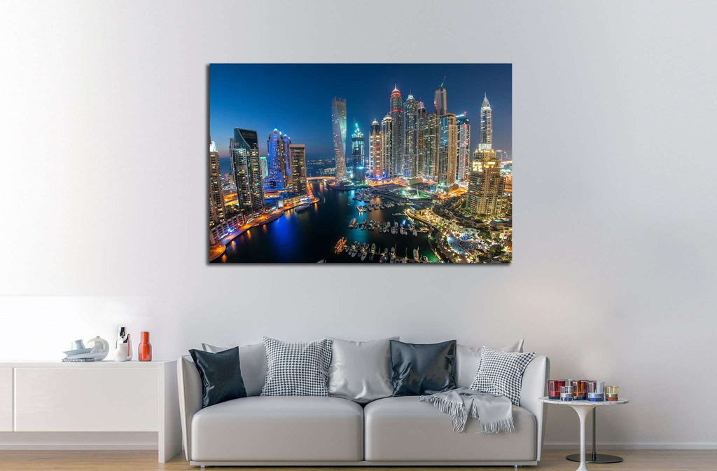 DUBAI №569 Ready to Hang Canvas Print