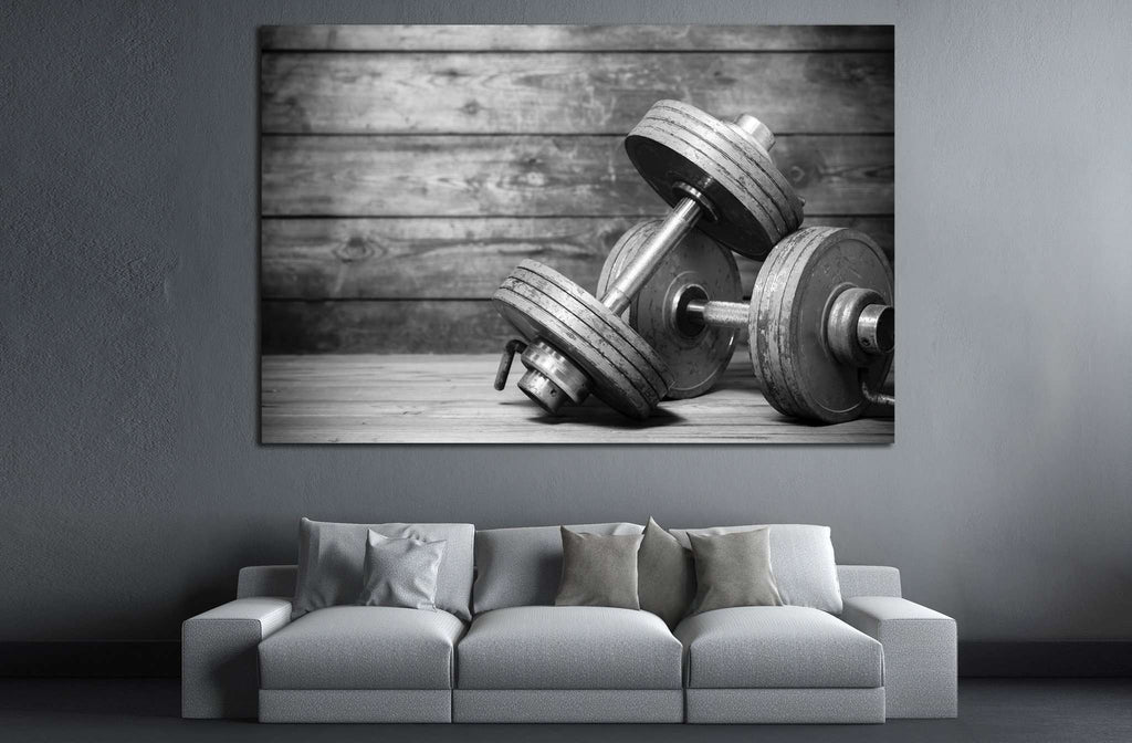 Dumbbless №200 Canvas Print