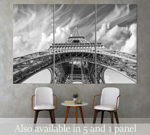 Eiffel Tower №3003 Ready to Hang Canvas Print
