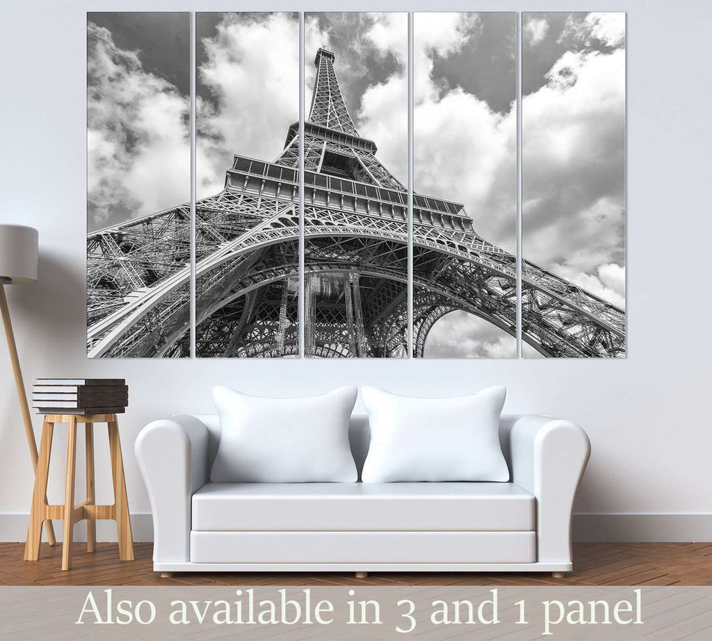 Eiffel Tower №3004 Ready to Hang Canvas Print