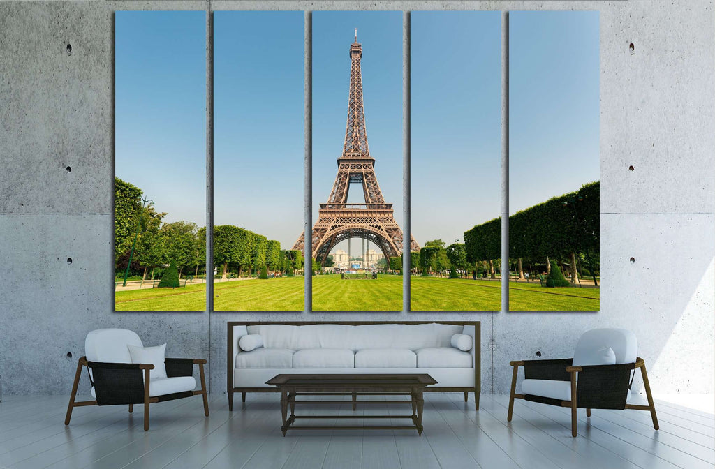 Eiffel Tower, Paris, France №2309 Ready to Hang Canvas Print