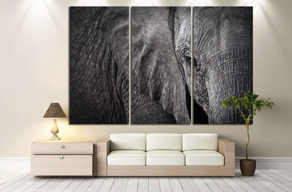 Elephant №192 Ready to Hang Canvas Print
