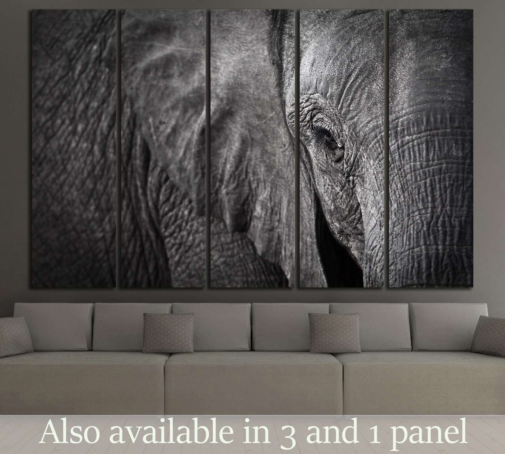 Wall art elephant - Shop For Elephant Wall Art At Zellart S 1330 S 1834 S 1846 S 3262 Wd 192 Wd 193 Wd 194 Wd 195 Wd 196