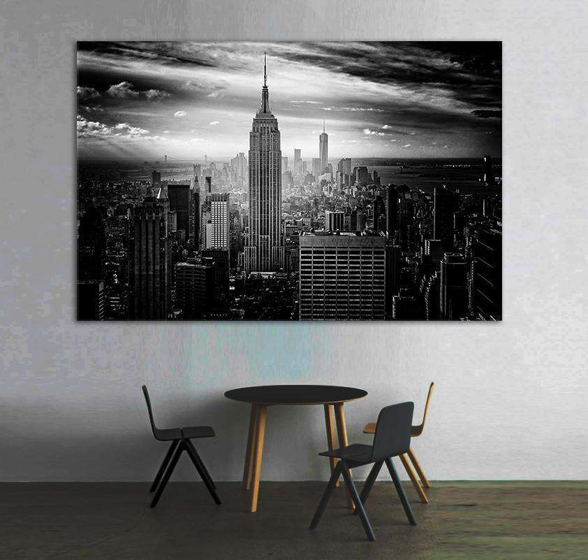 Empire State Building №1088 Ready to Hang Canvas Print