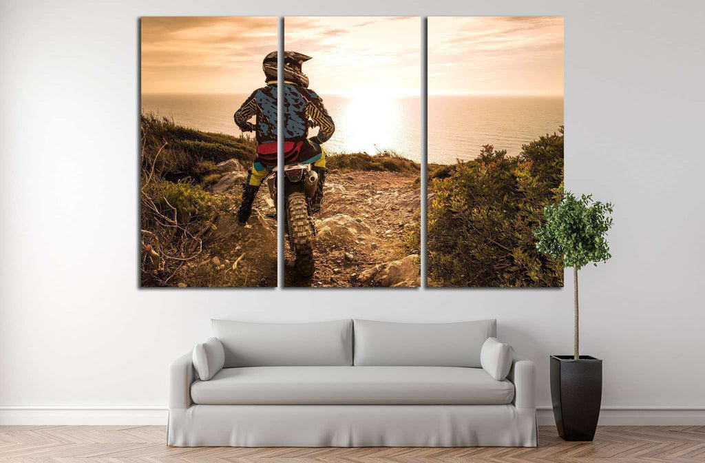 Enduro №167 Ready to Hang Canvas Print