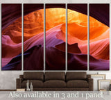 Fire in Stone №1958 Ready to Hang Canvas Print