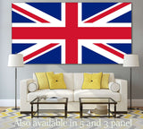 Flag of England №820 Ready to Hang Canvas Print