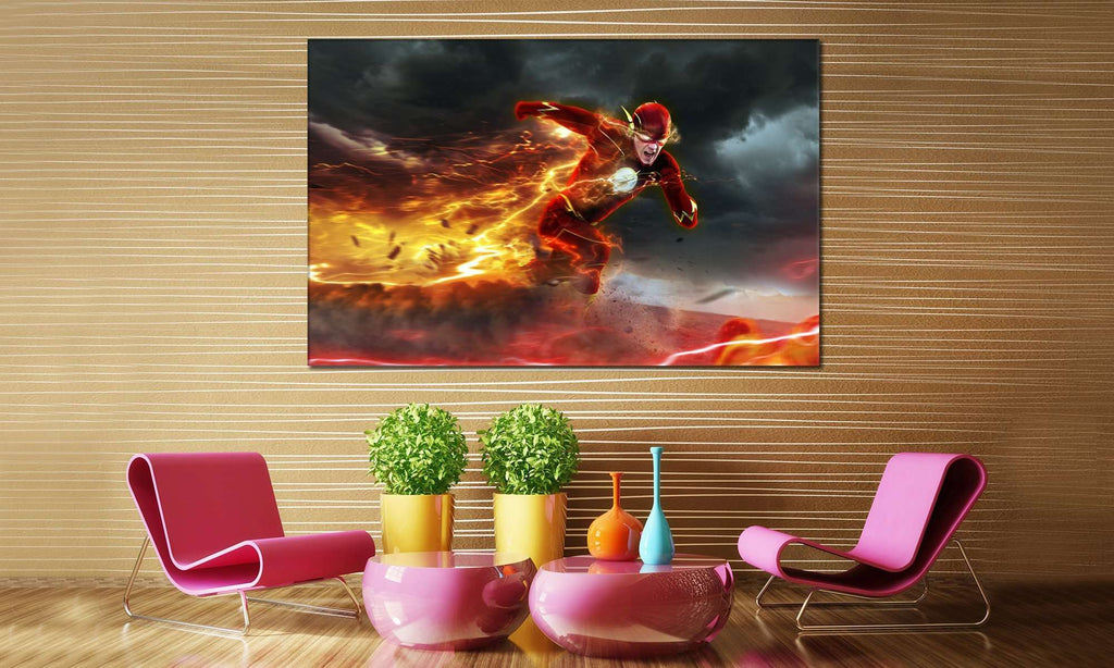 Flash Barry №2006 Ready to Hang Canvas Print