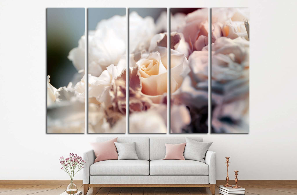 flower background №1086 Ready to Hang Canvas Print