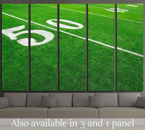 Football field №2129 Ready to Hang Canvas Print