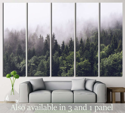 Forest №715 Ready to Hang Canvas Print