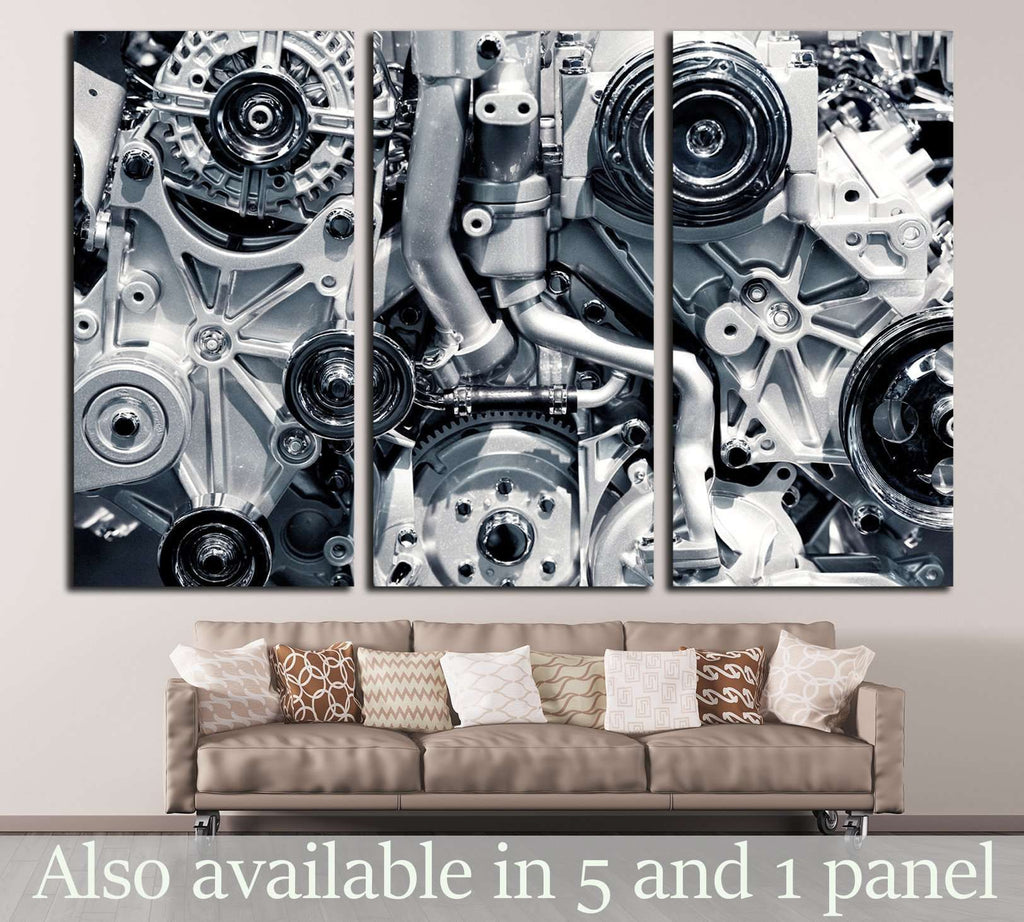 Gas Engine №139 Ready to Hang Canvas Print