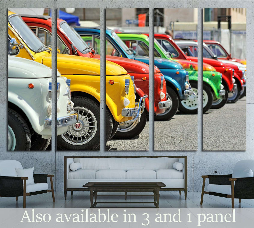 Cars Wall art №1898 Ready to Hang Canvas Print