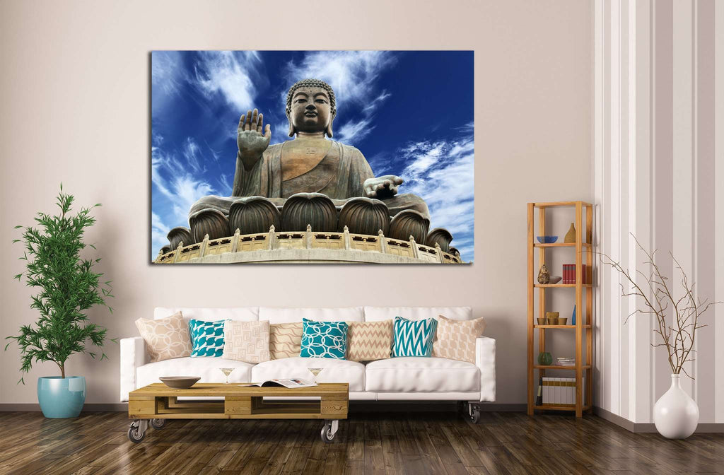 Giant Buddha №700 Ready to Hang Canvas Print