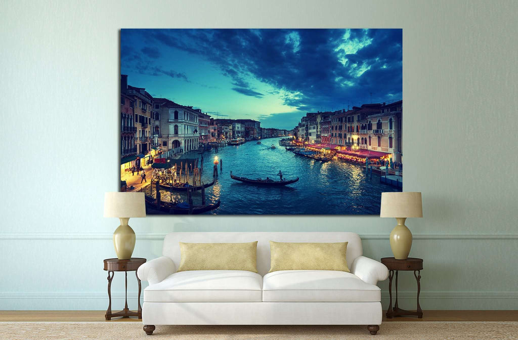 Grand Canal, Venice, Italy №798 Ready to Hang Canvas Print