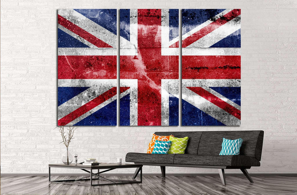 Great Britain №669 Ready to Hang Canvas Print