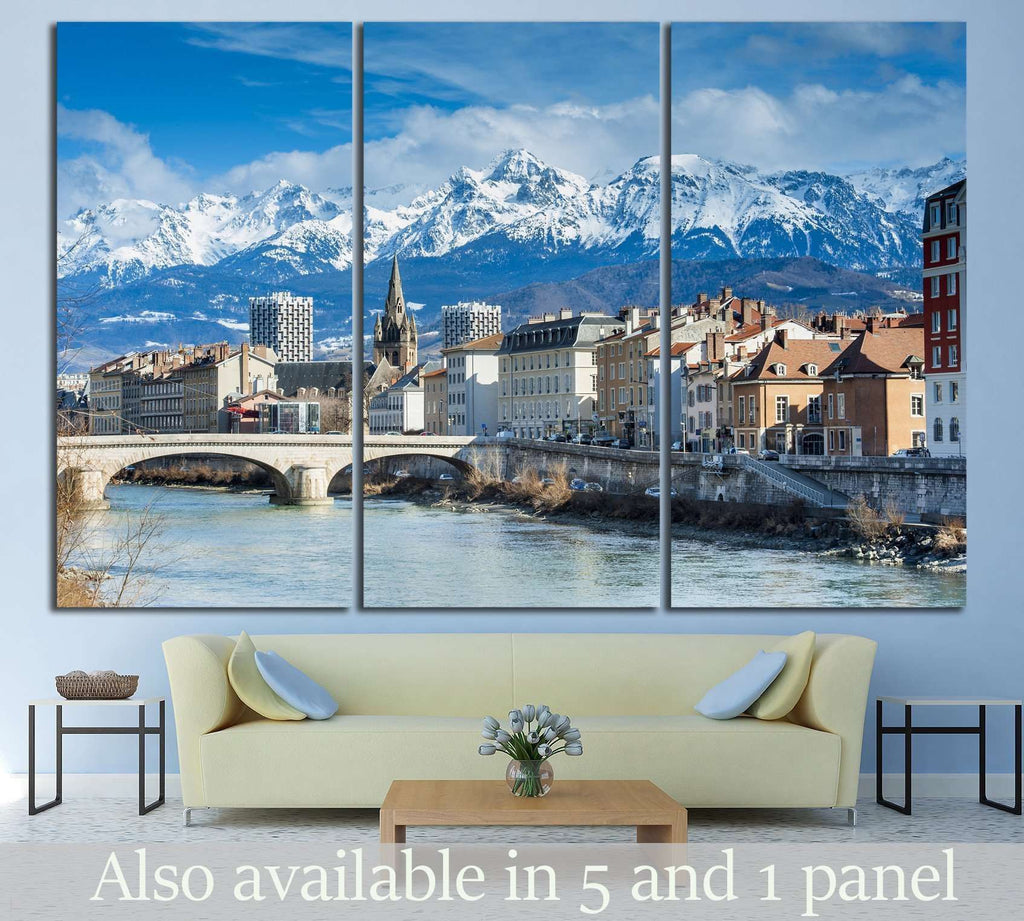grenoble, France №787 Ready to Hang Canvas Print