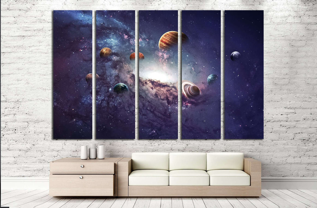 High resolution images presents creating planets of the solar system. ?2450 Ready to Hang & High resolution images presents creating planets of the solar system ...