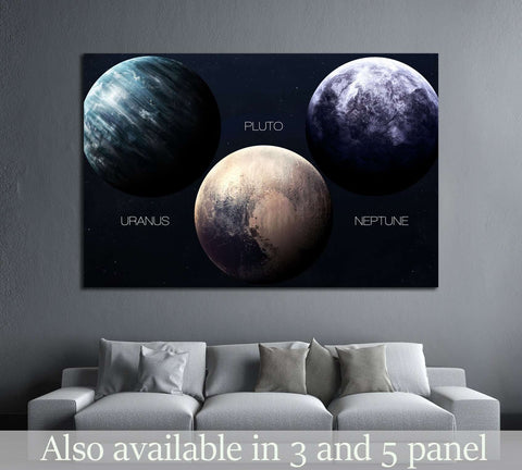 High resolution images presents planets of the solar system. №2445 Ready to Hang Canvas Print