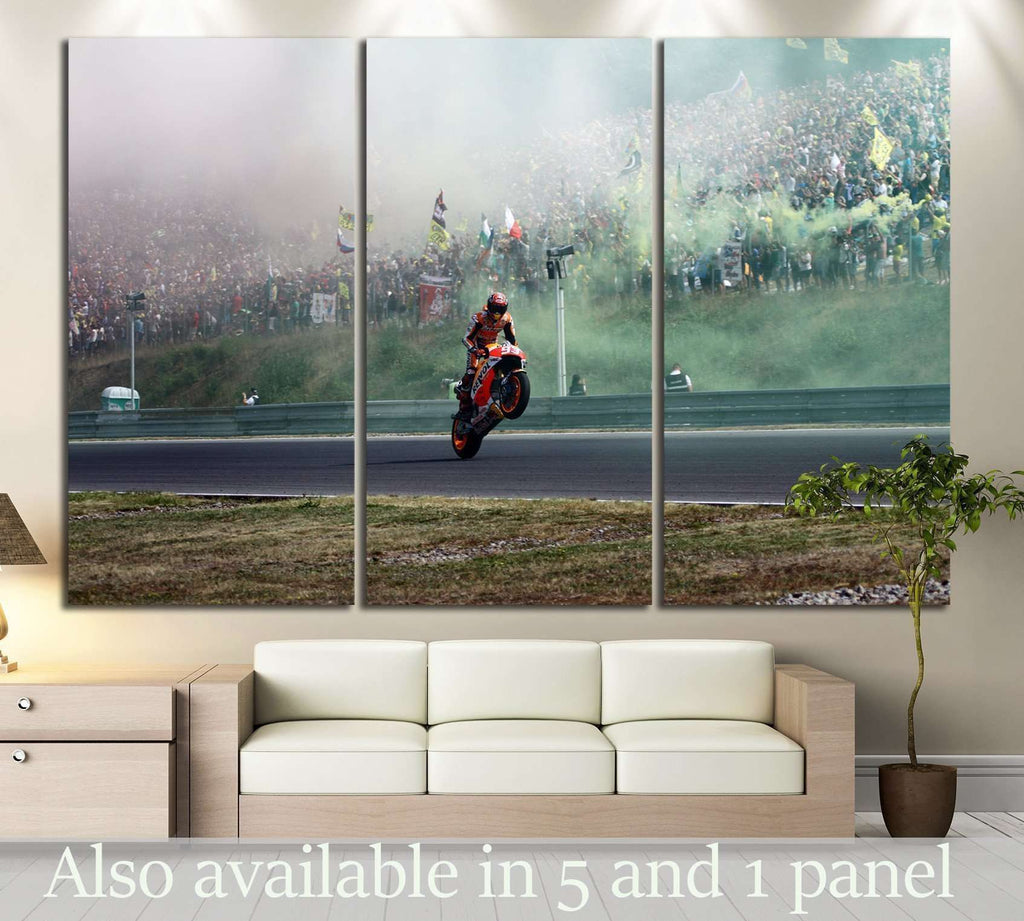Sportbike Ready to Hang Canvas Print, Sport Bike Wall Art №157 Ready to Hang Canvas Print