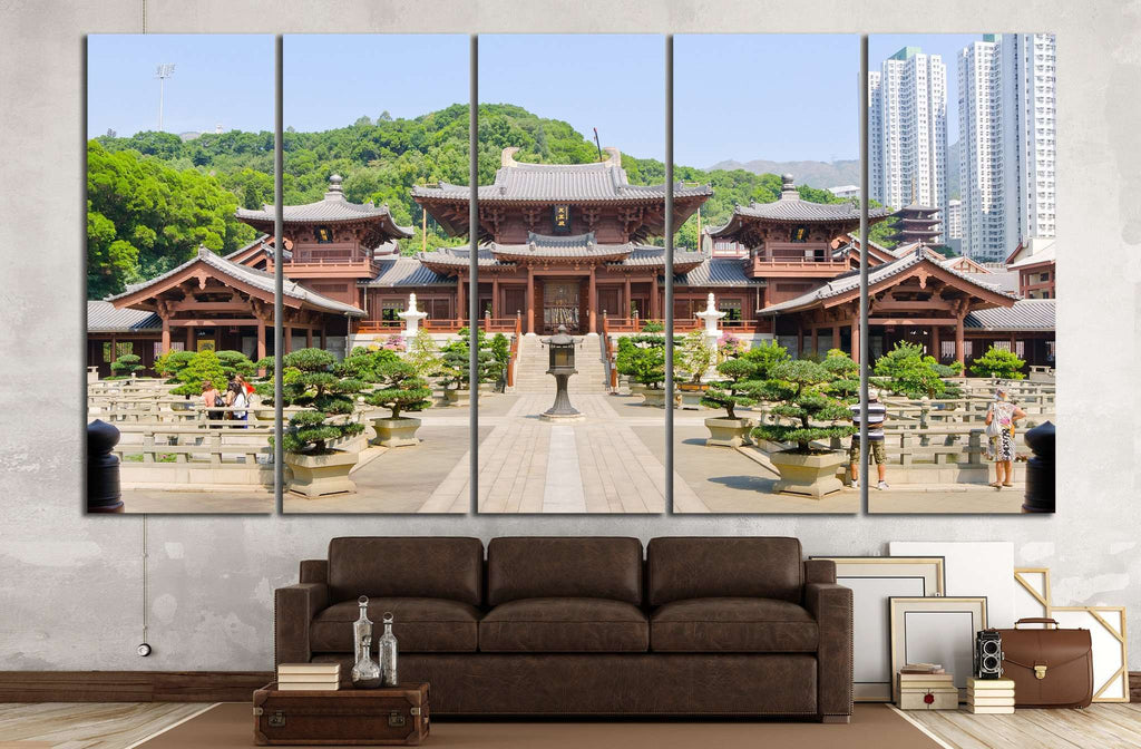 Hong Kong, China №799 Ready to Hang Canvas Print